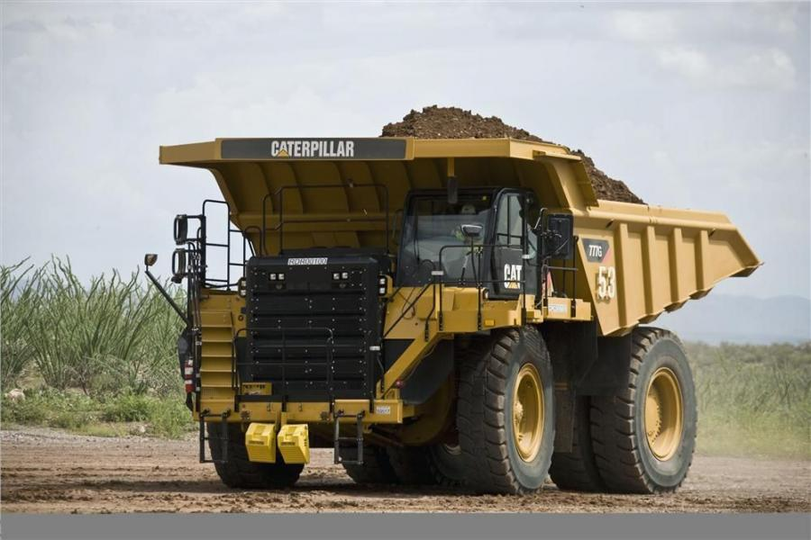 The new Cat 777G off-highway truck introduces performance, production and fuel efficiency in the 100-ton (91 t) size class.