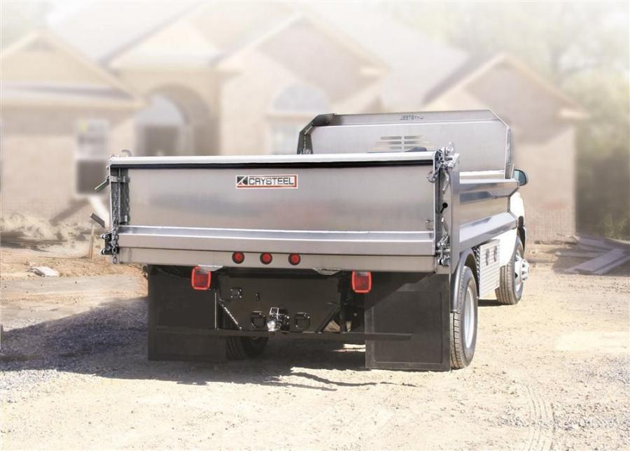 The Crysteel A-Tipper is designed for contractors and municipalities that need strength, durability and lightweight efficiency. The new design results in a weight reduction of 200 lbs. (90.7 kg) per body.