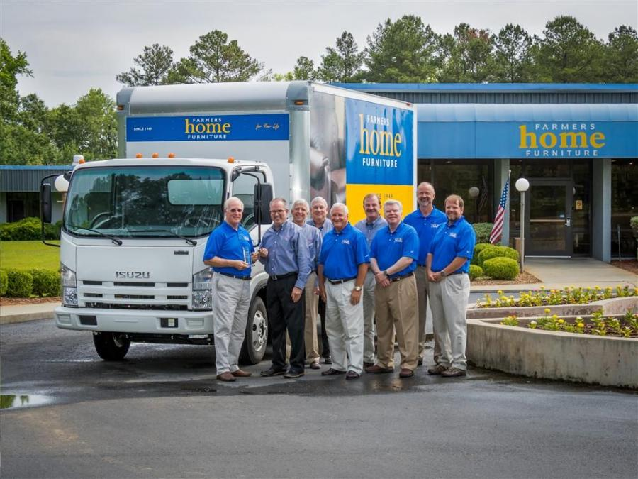 Isuzu Commercial Truck has delivered the 500,000 Isuzu-built truck since the Isuzu brand entered the North American market in 1984. The N-Series truck was sold to Farmers Home Furniture in Dublin, Ga.