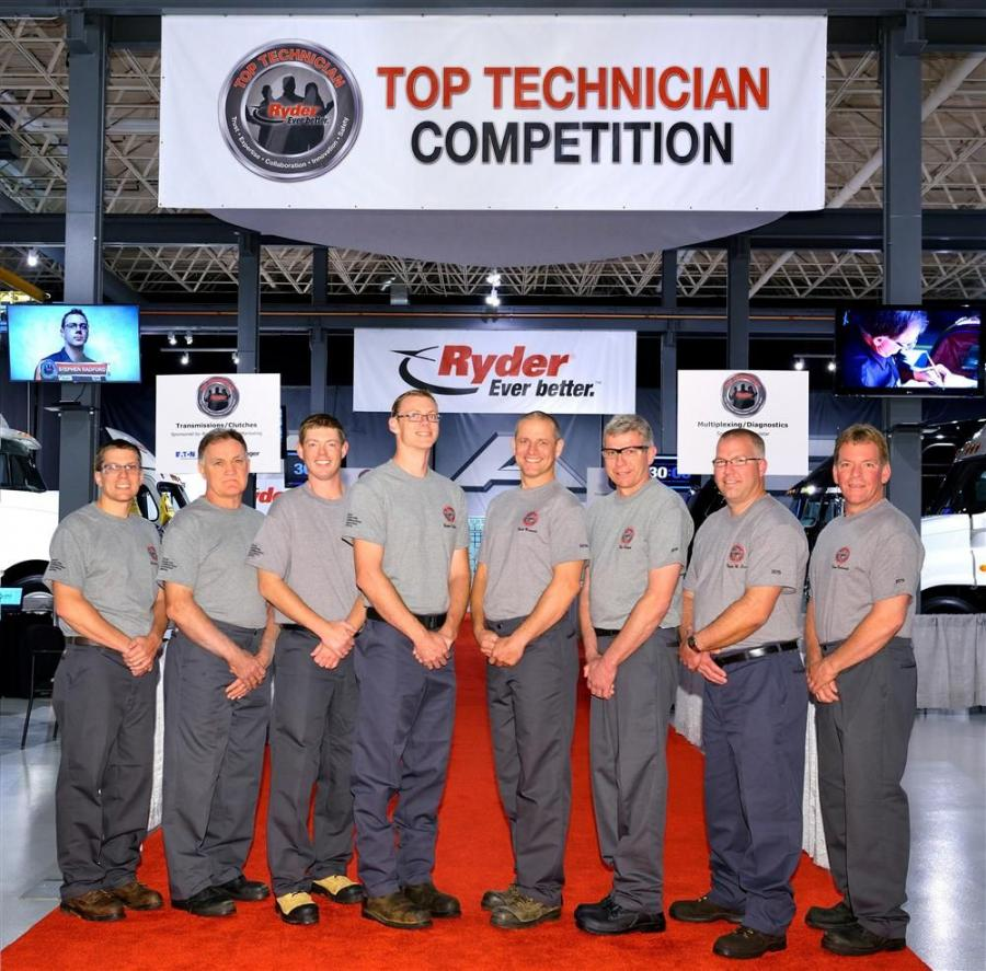The Mack Customer Center in Allentown, Pa., recently hosted the 2015 Ryder Top Technician (Top Tech) Recognition Program. Designed to identify, recognize and reward high-performing truck maintenance technicians, Top Tech features the top eight performers