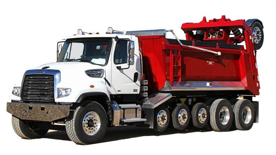 The design touts increased payloads up to 25 tons (22.7 t) featuring four, six or seven axle configurations.