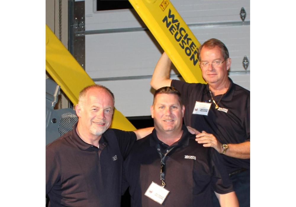 (L-R) are Johannes Schulze-Vohren vice president and managing director; Todd Christifulli, director of sales and distribution development; and Christopher Barnard (CEO).