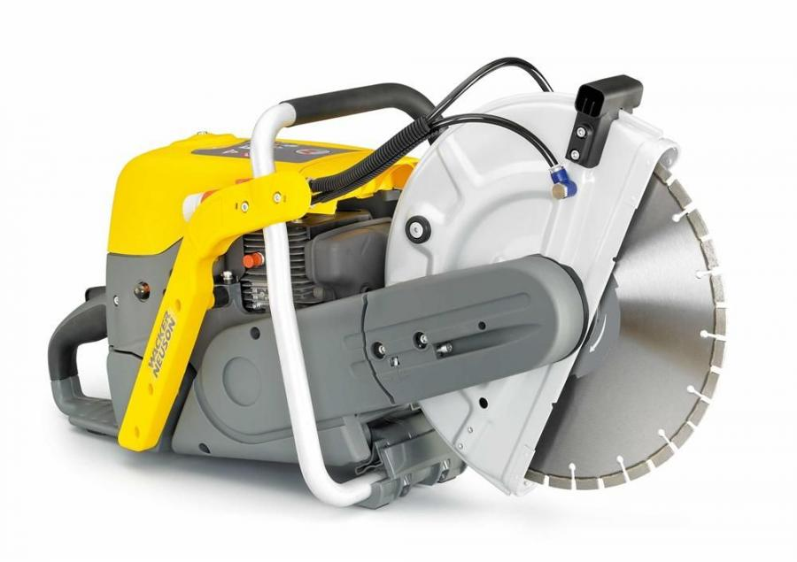 Wacker Neuson's BTS 630 and BTS 635 saws feature a new air filter concept.