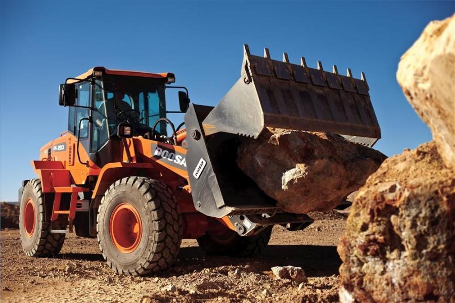 The 3.7-cu.-yd. (2.8 cu m) DL250-3 has been reintroduced as a 172-hp (128 kW) iTIV wheel loader — up from 163 hp (121.5 kW) in its previous design.
