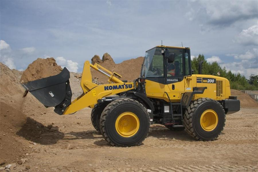 Komatsu's WA200-7 wheel loader is powered by an EPA Tier IV Interim emission certified Komatsu engine.  The new wheel loader replaces both the WA200-6 and the WA200PZ-6.