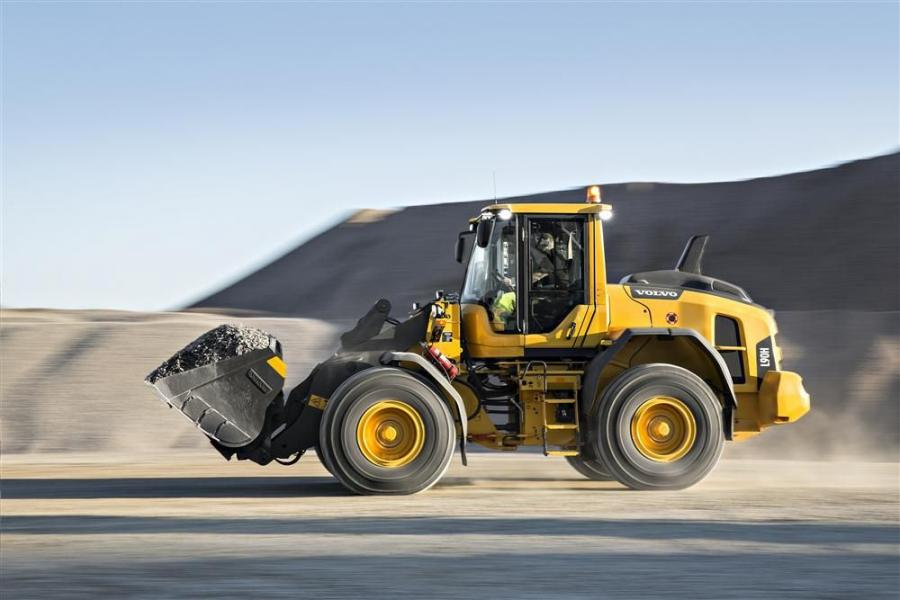 The Volvo L60H, L70H and L90H are built with torque parallel (TP) linkage for versatility and front visibility.