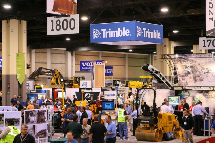 A photo from the 2012 World of Asphalt Conference.  Photo courtesy of World of Asphalt.