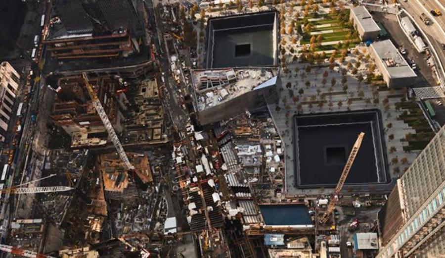 The WTC Construction Site. Photo courtesy of Silverstein Properties.