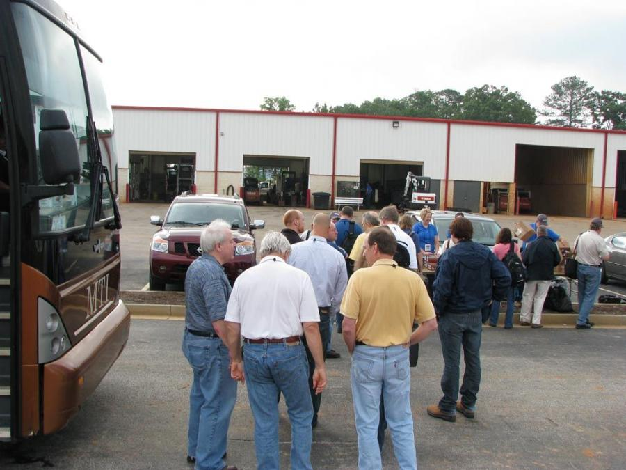 A packed busload of media representatives converged on Lake City, Ga., and the branch facility of Bobcat of Atlanta, which hosted this year's Bobcat Doosan new product presentations and demonstrations.