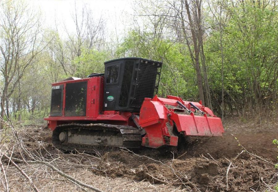 The 8039 is ideally suited for treating land already cleared of standing vegetation, often through logging, mulching or traditional land clearing methods.