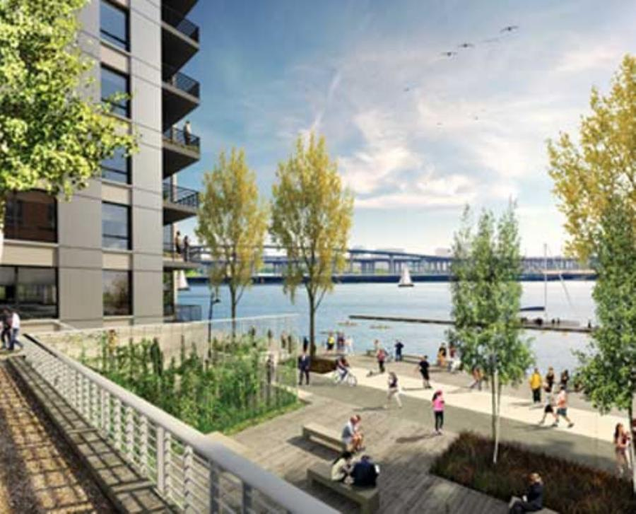 Construction of the first major building in Westport, which is a luxury apartment structure developed by Landex Companies, is expected to begin in 2011.