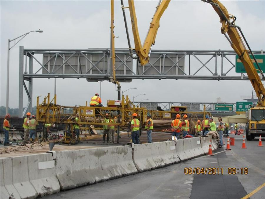 The Dunn Memorial Bridge rehabilitation is the first of a number of bridge and interstate road projects that will improve safety and increase travel efficiency in the downtown corridor of the state's Capital, Albany.