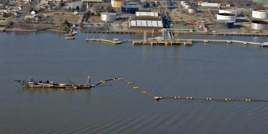 The U.S. Army Corps of Engineers is in the midst of a dredging project that extends over 100 mi. (161 km) of the Delaware River from Philadelphia, Pa., and Camden, N.J., to the mouth of the Delaware Bay.
