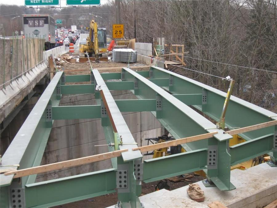 Belleville, N.J., based Ritacco Construction Inc., is serving as general contractor for the project, which involves complete replacement of the bridge superstructure, including abutment seats, backwall, structural steel girders, bridge deck, sidewalks, an