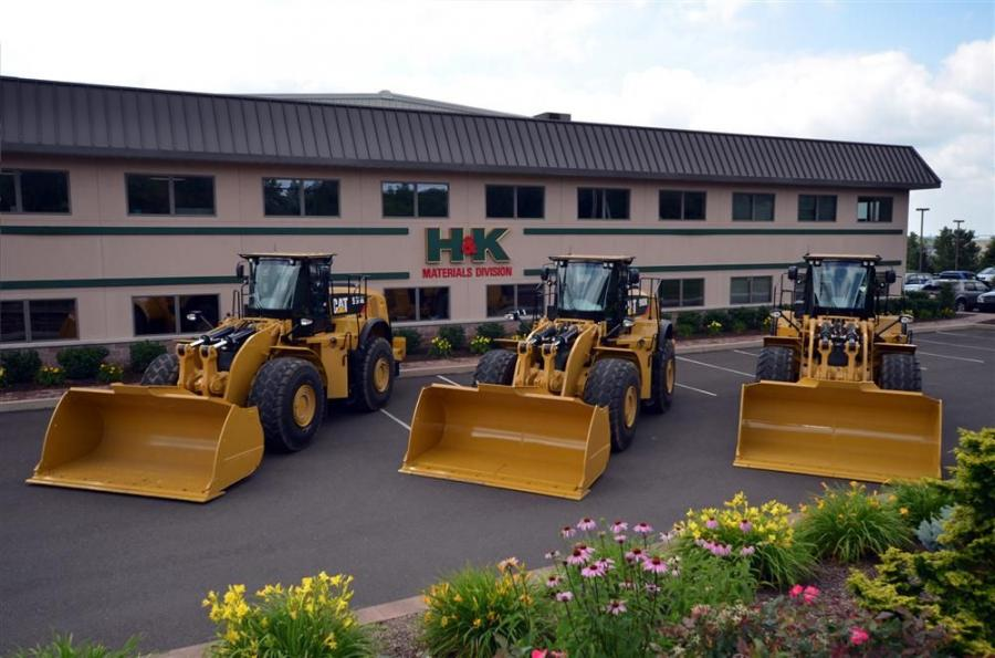 H&K Group has leased three Cat 980K loaders from Giles & Ransome.