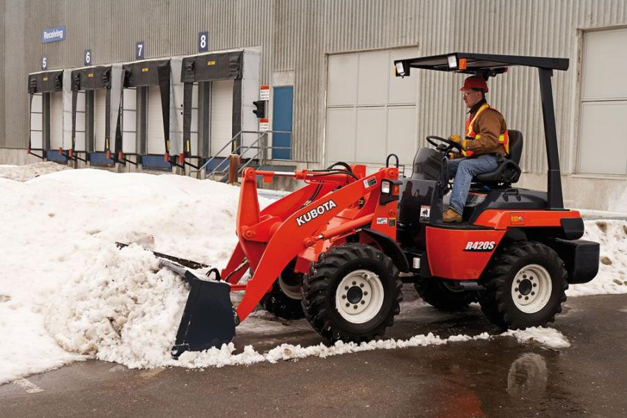 The KX057 and R420S are just two of the many models of Kubota equipment now available at Cherry Valley Tractor in Marlton, N.J.