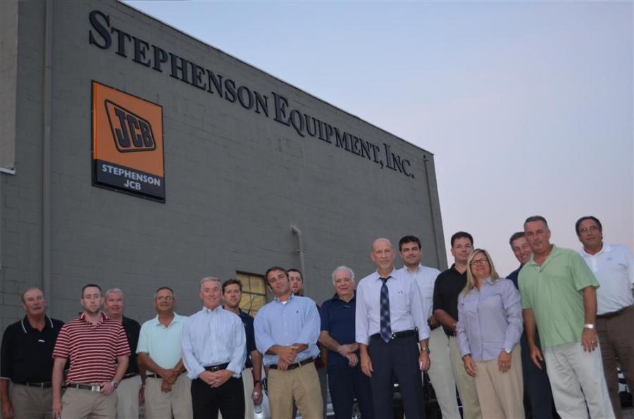 DVAED members pose with Les Toaso 