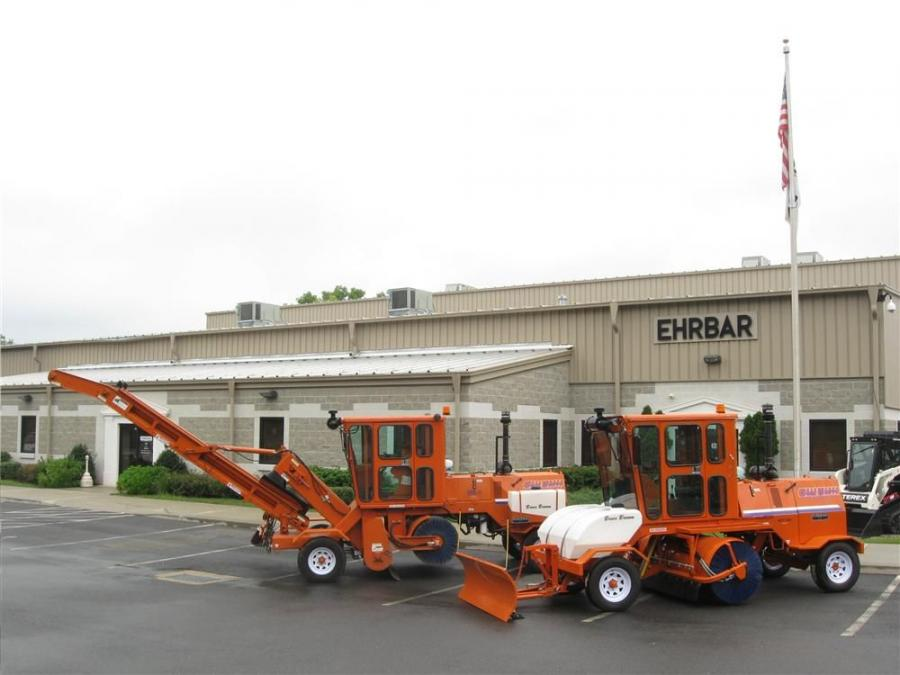 Edward Ehrbar Inc. is now the distributor of Broce brooms and sweepers in the New York metropolitan and Hudson Valley areas and southeastern Connecticut.