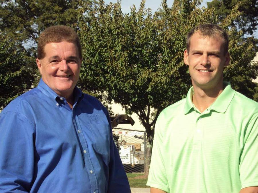Bill Connolly (L) and Jason Frommer have been promoted at Foley.