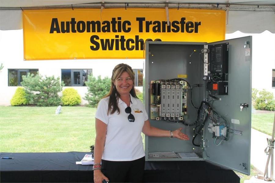 Foley Power Systems Product Support Sales Representative Judy Lahrman is ready to talk to customers about ATR.