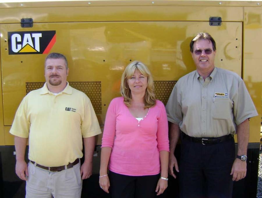 (L-R) are Sean Fallon, inside sales engineer; Judy Lahrman, customer support agreement account representative; and Pat Buckley, engineering services manager