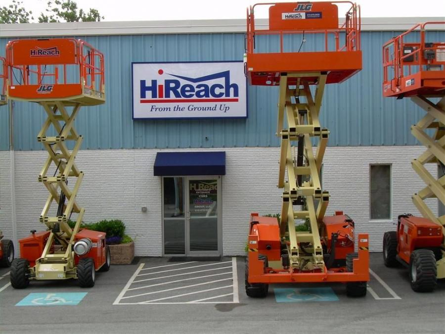 HiReach, based in King of Prussia, Pa., was recently acquired by Sunbelt Rentals.