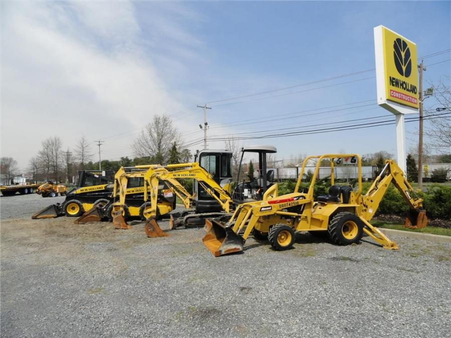 During the May 25 auction, bidders will have the chance to vie for an extensive selection of equipment, including New Holland mini-excavators and attachments and more.