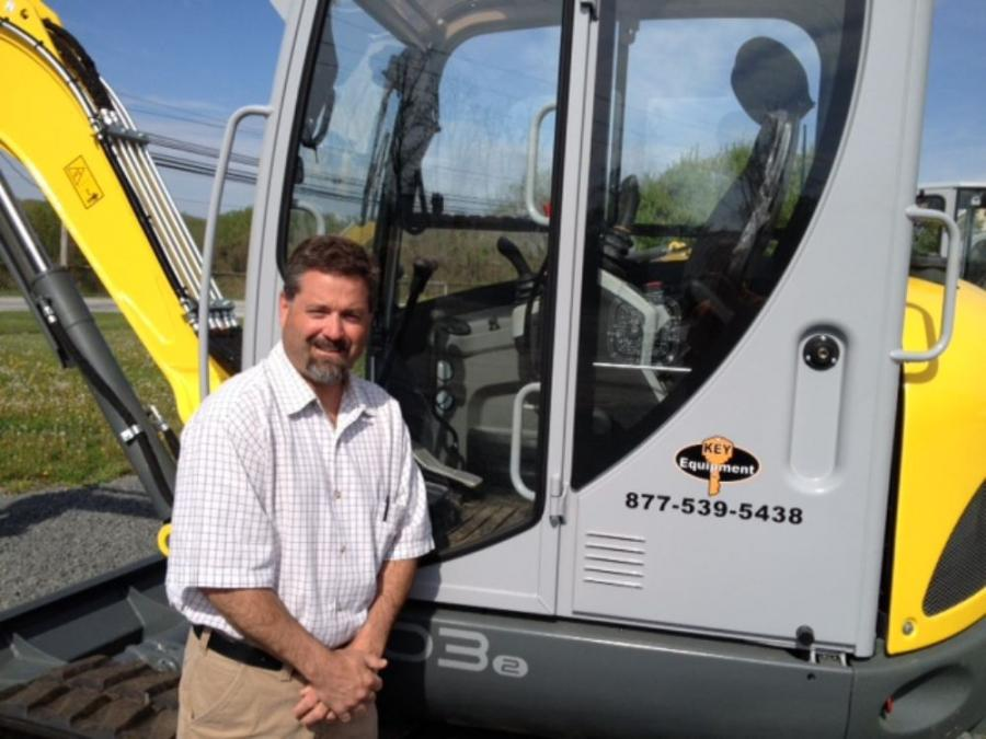 In his new role as product specialist of Wacker Neuson and Terex Environmental products, Harry Lilley also will be responsible for growing Key's AWP, telehandler and compact cranes business.