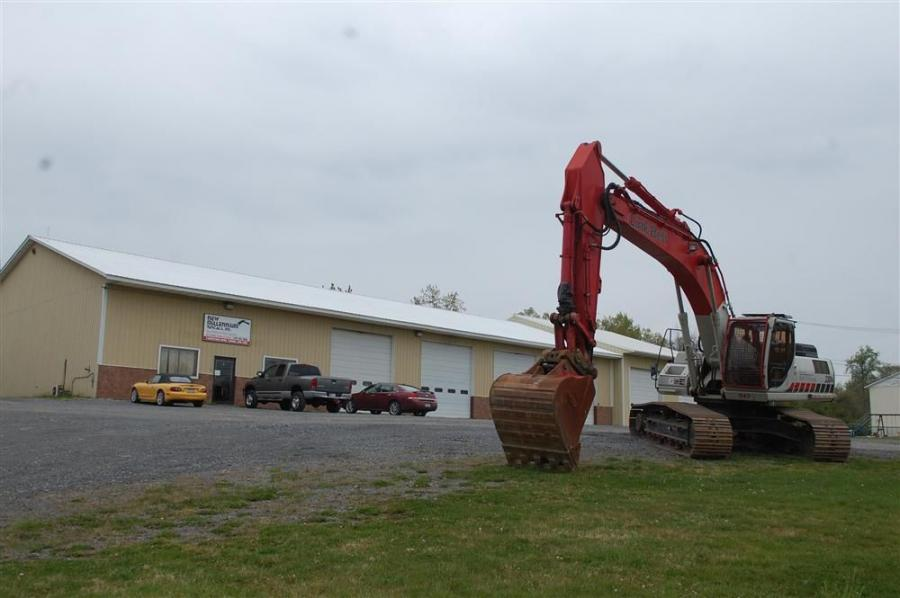 New Millennium Rentals' new facility in Florida, N.Y.