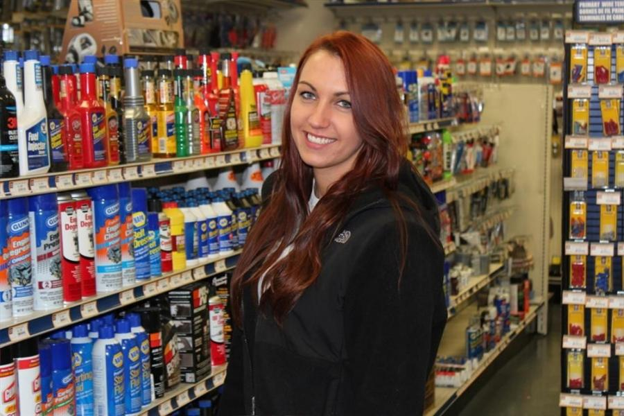 Alyssa Howard is the PBE auto parts consultant at the Pine Bush, N.Y., location.