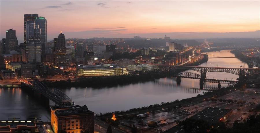 The Pittsburgh region's 23 locks and dams are on the brink of failure, according to the U.S. Army Corps of Engineers. Photo courtesy of Matthew Field.