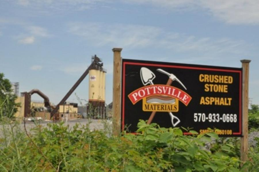 Pottsville Materials serves Schuylkill, Berks, Northumberland, Lehigh and Carbon counties.