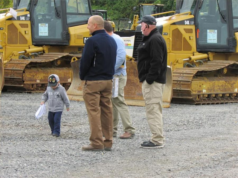 Ransome CAT's 1-Day Sales Event was for younger and older equipment enthusiasts alike.