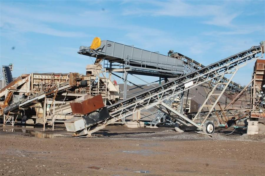 The new wash plant at Kinsella's quarry created the need to add a loader to the fleet.