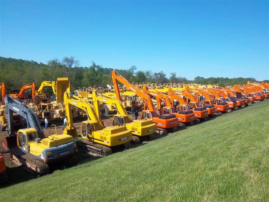 Ritchie Bros. recently conducted a one-owner complete disposal of equipment for AccuBid Excavation Inc. The sale was held May 5 at AccuBid's yard in Mt. Airy, Md.