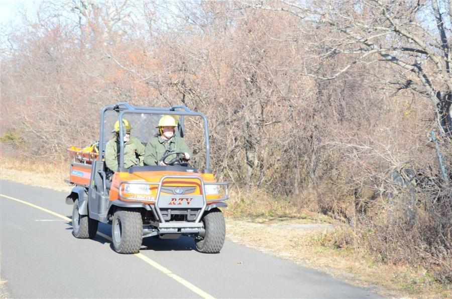 After learning about the Park Service's need, Harter Equipment Inc. generously donated a Kubota RTV900 equipped with a special rescue skid designed to help evacuate victims and load emergency equipment.