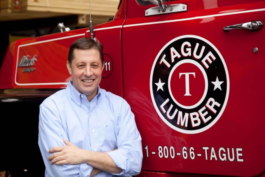 Tague Lumber Inc. has promoted Thomas J. Vanleer to vice president of sales and marketing.