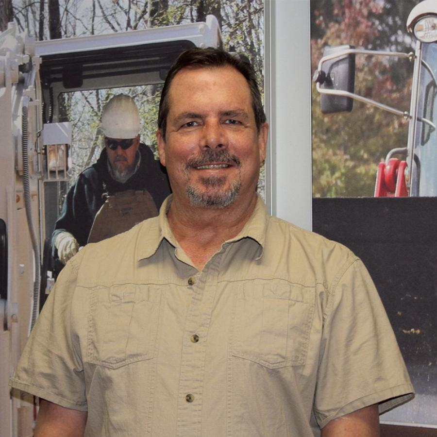 Scott Herr's responsibilities include service and warranty support for the northeastern United States and eastern Canada. The support includes handling service issues, warranty issues, technical support and service training.