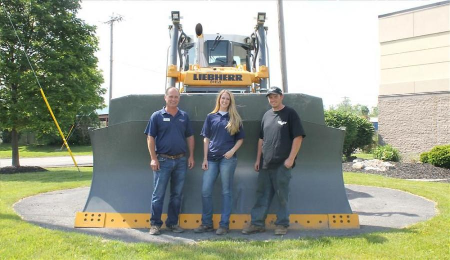 (L-R): Greg Hulslander, Chelsea Scutt and Kyle Stephens are new additions to the Tracey Road rental department.