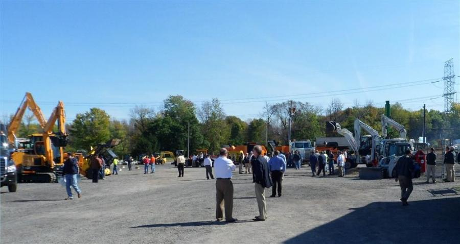 Tracey Road Equipment's 35th Anniversary Open House was held Oct 6. The weather cooperated, providing a magnificent day for everyone who attended.