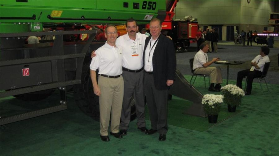(L-R) are Dick Ridings, Constantino Lannes and Jerry Tracey.