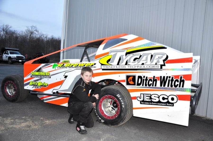 Tyler Dippel has been racing Slingshot race cars since the age of 8.