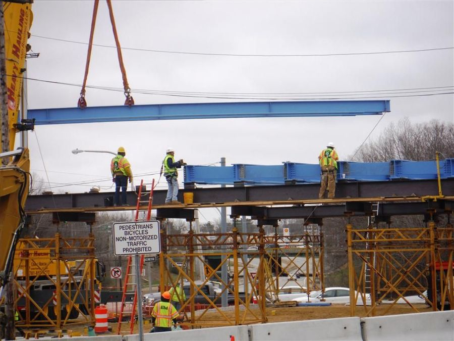 RIDOT photo A new $6.4 million bridge, to be completed in less than a year, is currently underway on the Warwick/West Warwick town line.