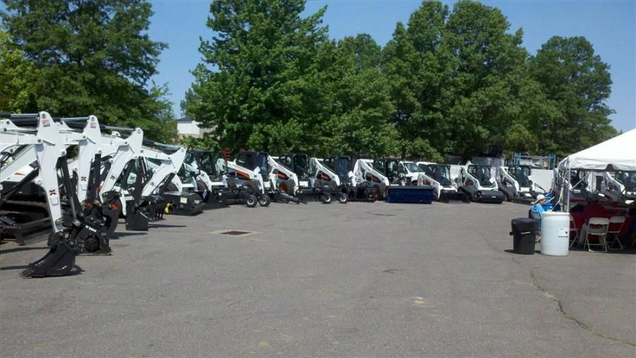 A wide range of Bobcat equipment was on display during Bobcat of Connecticut's June 4 open house.