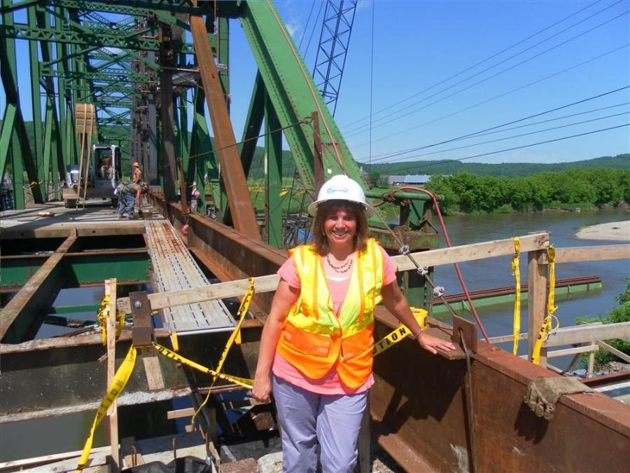Photo courtesy of Fitzgerald & Halliday Inc. and Harrison & Burrowes Bridge Constructors Inc.