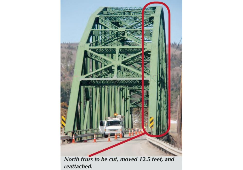 Checkered House Bridge Undergoes Three Year Makeover Construction Truss Diagram Elevation Save Photo Courtesy Of Fitzgerald Halliday Inc And Harrison Burrowes Constructors