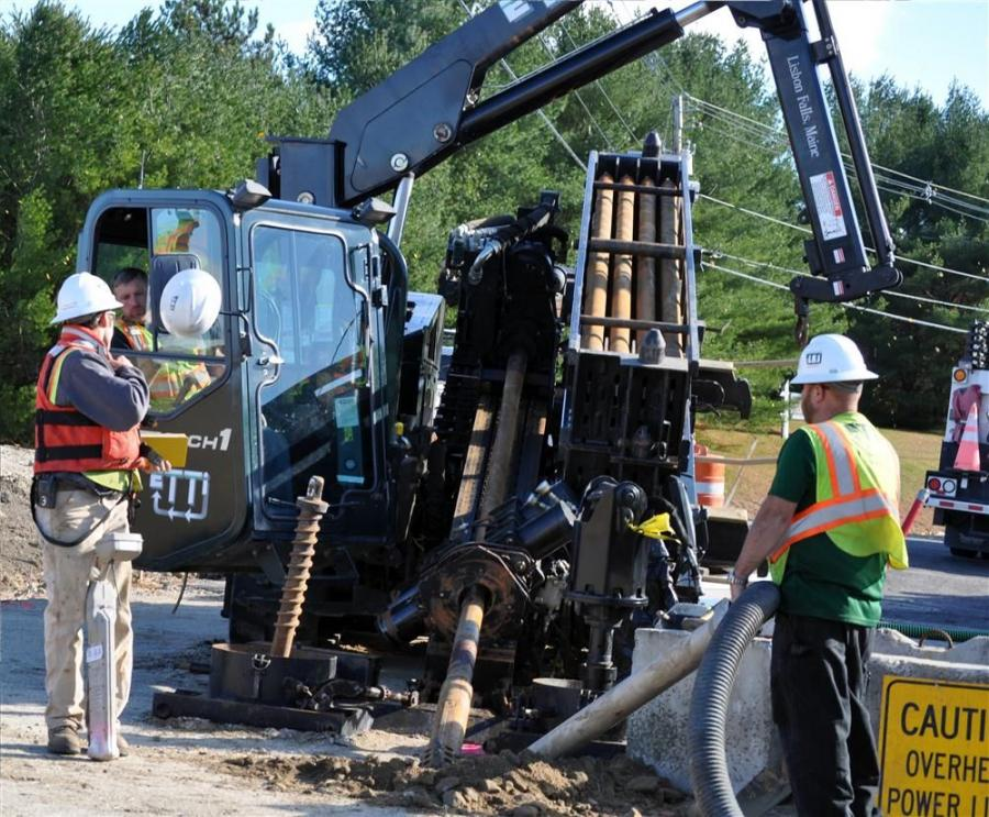 Enterprise Trenchless Technologies Inc. — ETTI — specializes in horizontal directional drilling, or HDD, a construction method that allows a drill to be steered and tracked from the surface without disrupting the surface.