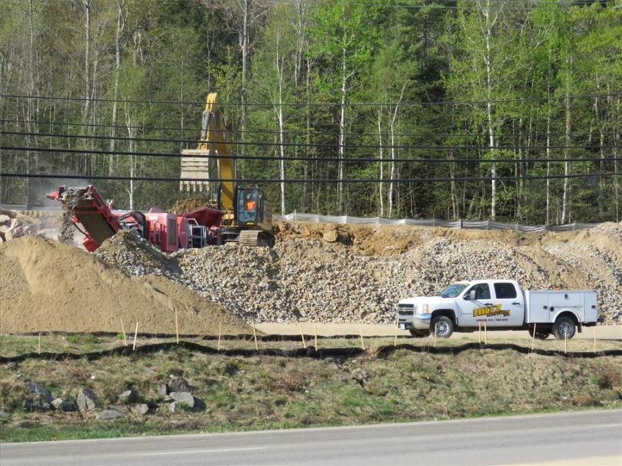 Jeremy Hiltz Excavating Loads Up on Projects Throughout New