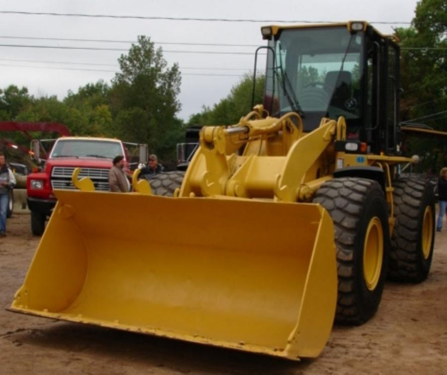 This 1999 Caterpillar 928G wheel loader sold for $48,500 at the auction.
