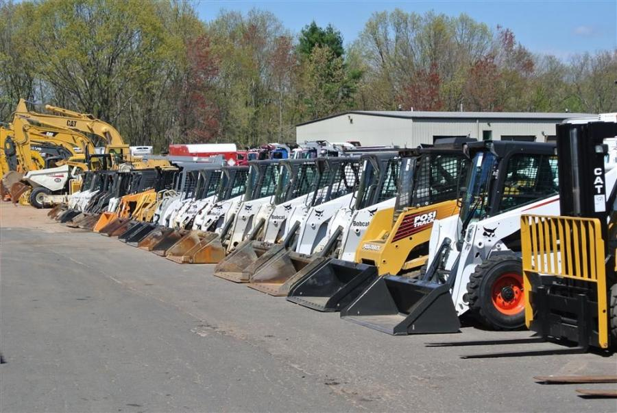 The top seller of 22 skid steers was a 2012 Bobcat S650 with 85 hours that brought $34,500.